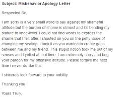 Business Apology Letter For Poor Customer Service 5 Apology Letters For Misconduct Find Word Letters