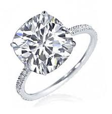 2 carat cushion cut diamond engagement ring cushion cut diamond