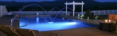 inground pools at night. Residential In-Ground Swimming Pools Inground At Night