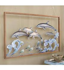 3 d metal dolphin wall art on dolphin wall art metal with 3 d metal dolphin wall art top rated for the home new best