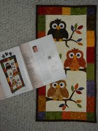 Ribbon Candy Quilt Company: Just arrived! & All of you owl fans, this is a project for you! Adamdwight.com