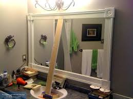 cottage bathroom mirror ideas. Country Bathroom Mirrors Incredible Mirror Frame Ideas Framing A French . Cottage
