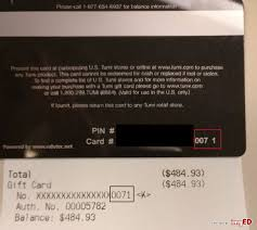 tumi gift card value 484 93