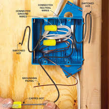 wiring outlets and switches the safe and easy way family handyman 3 Outlet Grounded Wire pack boxes neatly 3 wire grounded ac outlet