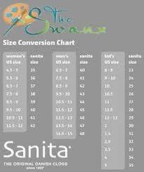 Sanita Shoe Size Chart 13 Best Shoes Images Sanita Clogs Clogs Shoes