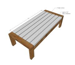Easiest 2x4 Bench Plans Ever  Ana White Board And Woodworking2x4 Outdoor Furniture Plans