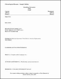 Simple Cv Format Doc Neu Resume Templates Word Template Builder
