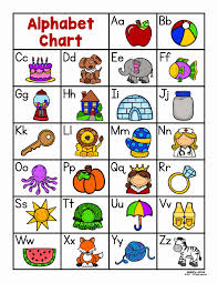 Free printable alphabet coloring pages in lovely original illustrations. Alphabet Coloring Chart Printable Unique Alphabet Chart Teaching Ideas Prek K Alphabet Chart Printable Alphabet Charts Alphabet Preschool