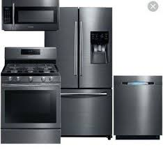 black stainless steel appliances reviews.  Stainless Black Stainless Steel Appliances In Kitchen Samsung New Kitchenaid  Reviews On I