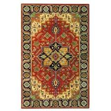 12 x 15 area rug rust ft large rugs