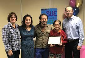 2018 Grace Johnson Volunteer Award Recipient · Parmenter Foundation