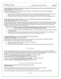 Epic Example Of A Oilfield Consultant Resume Sample New Objective ...