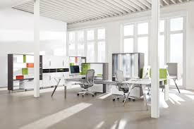 office spaces design. Photo: Courtesy Of Teknion Office Spaces Design