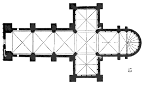 123 Best Gothic Churches U0026 Cathedrals  Floor Plans Drawings Cathedral Floor Plans