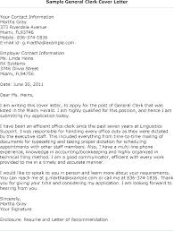 Sample General Cover Letter For Resumes General Cover Letter Examples Of General Cover Letters Samples Of