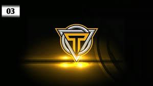design initial logo esports twitch