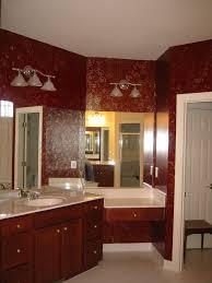 Gold Bathroom Pink And Gold Bathroom Decor Vessel Sink Vanity Shelves Installed