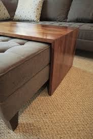 bean bag table ottoman coffee table