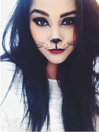 cute cat make up for halloween text katc56 followed by 5 10 or more