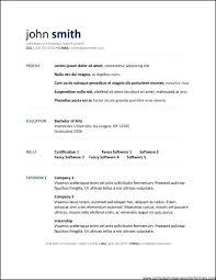 Open Office Resume Templates Interesting Open Office Resume Template 28 Free Download Mac Ope
