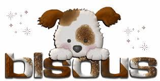 """Résultat de recherche d'images pour """"gif chien bisous"""""""