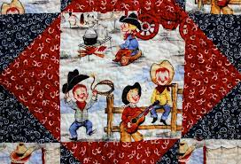 Cowboy Cute: Baby Quilt and Hat | Big A, Little A & IMG_5677 Adamdwight.com