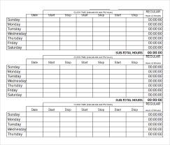 Timesheet Formulas In Excel Excel Timesheet Template With Formulas Excel Template Sample Excel