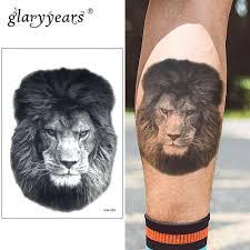 Tatuaggio Braccio Uomo Leone