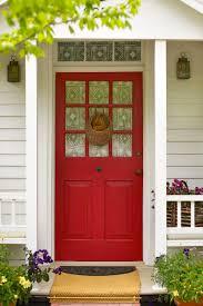 a red feng s front door