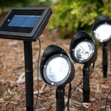 Led Solar Garden Spot Lights Pin By William On Outside Lights Solar Spot Lights Outdoor
