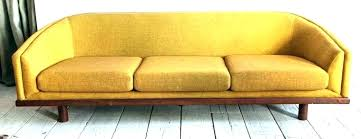 yellow leather couch mustard sofas round back sofa mid century curved in faux sectional light yellow leather couch