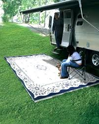 rv patio mat elegant or small size of outdoor reversible rug carpet camping 9x18