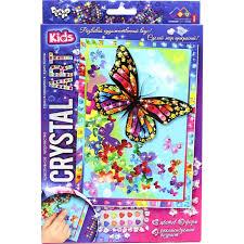 <b>Danko</b> Toys Набор креативного творчества Crystal Art Бабочки ...