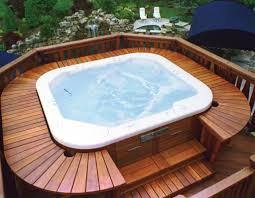 hot tub deck. Hot Tubs On Decks Tub Deck N