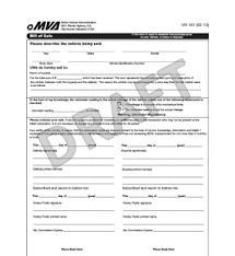 Free Maryland Bill Of Sale Form Pdf Template Legaltemplates