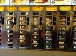 Bread Vending Machine Singapore Cool 48 Vending Machines You Won't Believe Exist Enroute Vending