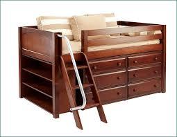 kids loft bed with desk and dresser