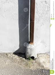 Downspout Drain Pipe Stock Photo Image - Exterior drain pipe