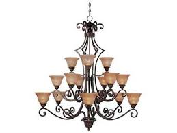 maxim lighting symphony oil rubbed bronze 15 light 49 wide grand chandelier with screen amber