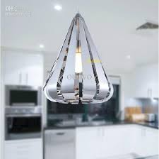 new modern lighting. Pendant Lamp Stainless Steel Water Drop Light New Modern Bedroom Silver Metal Living Room Fixtues Hanging Shades Copper Lighting I