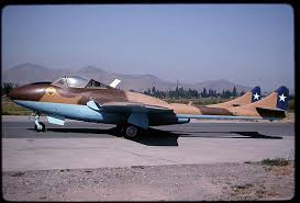 El Hawker Hunter  De La Fach