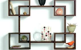 decorative metal wall shelf decor most beautiful shelves small walls wood and round