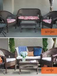 no sew patio cushion covers vignette