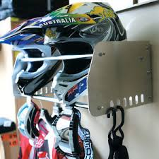 Motorcycle Coat Rack Ballards NEW MX Road Enduro Motorcycle Alloy Helmet Storage Gear 48