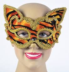 Decorative Masquerade Masks Tiger Decorative Masquerade Mask Cat Masquerade Masks 12