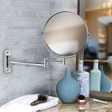 bathroom mirror chrome. View In Gallery Double-sided Chrome Bathroom Mirror