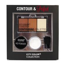 city color contour and perfect powder makeup kit 3 pack