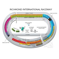 Rir Interactive Seating Chart Richmond International Raceway Seating Chart