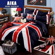 british american flag bedding set duvet cover set union jack bedclothes bedlinen 100 cotton for teens boys and girls 2 clearance bedding beautiful bedding