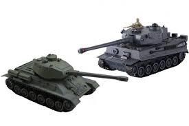 <b>Радиоуправляемый танковый бой</b> Русский Т34 и Немецкий Tiger ...